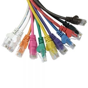 colourful cables